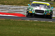 Team Parker Racing Bentley Continental GT3 with drivers Rick Parfitt & Seb Morris during the British GT Championship at Snetterton Circuit. Photo: Jurek Biegus.