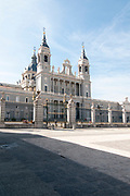 Almudena Cathedral (Santa María la Real de La Almudena) is a Catholic cathedral in Madrid, Spain. It is the seat of the Roman Catholic Archdiocese of Madrid. The cathedral was consecrated by Pope John Paul II in 1993.