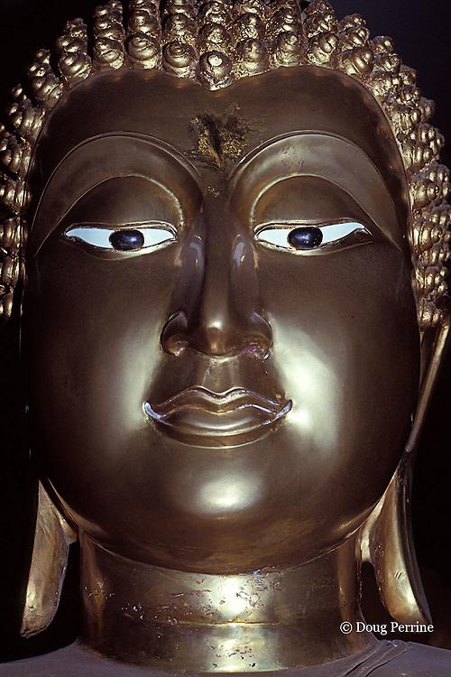 Buddha image at shrine, Bangkok, Thailand