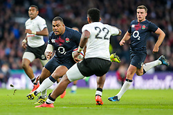 Kyle Sinckler of England in action - Rogan Thomson/JMP - 19/11/2016 - RUGBY UNION - Twickenham Stadium - London, England - England Rugby v Fiji - Old Mutual Wealth Series.