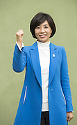 South Korean lawmaker Bae Jae-Jeong in Busan, South Korea, March 13, 2016.  Photo by Lee Jae-Won (SOUTH KOREA)  www.leejaewonpix.com