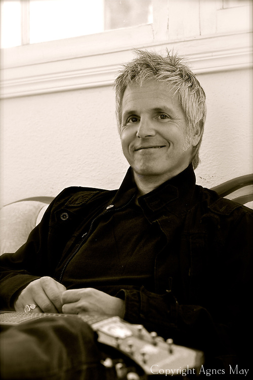 A portrait of music producer/ recording and mixing engineer/ musician/ songwriter Robin Danar (http://www.robindanar.com/).