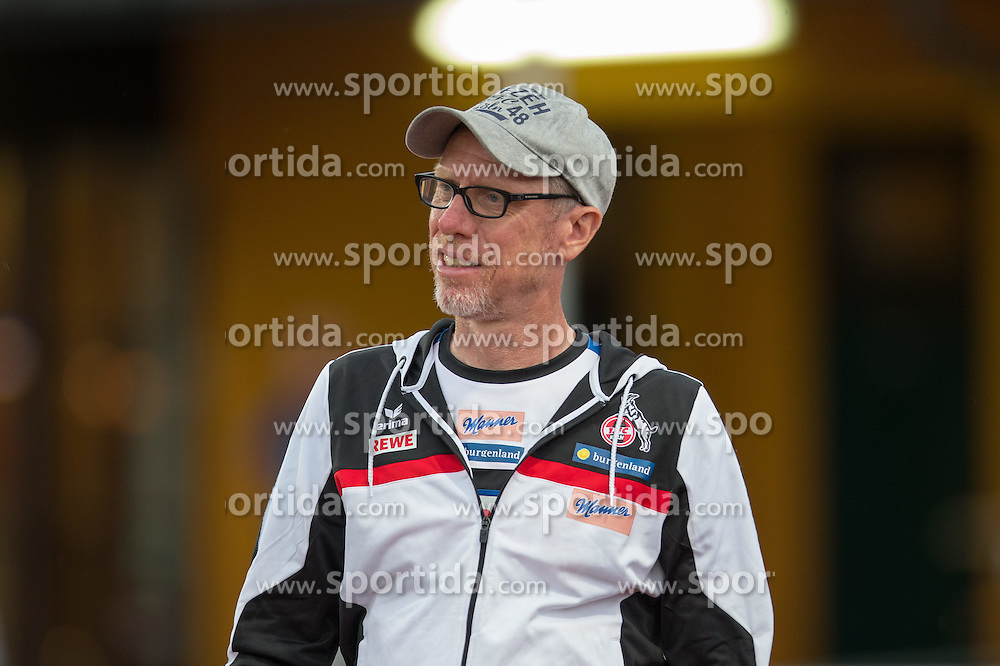 22.07.2015, Grenzland Stadion, Kufstein, AUT, Testspiel, 1. FC Köln vs RCD Espanyol Barcelona, im Bild Peter Stoeger (1. FC Koeln) // during the International Friendly Football Match between 1. FC Cologne and RCD Espanyol Barcelona at the Grenzland Stadion in Kufstein, Austria on 2015/07/22. EXPA Pictures © 2015, PhotoCredit: EXPA/ Johann Groder