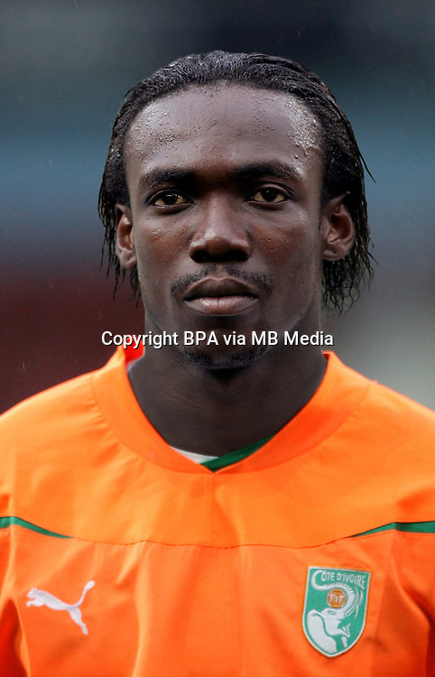 Football Fifa Brazil 2014 World Cup / <br /> Ivory Coast National Team - <br /> Arthur Boka of Ivory Coast