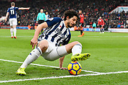 Ahmed Hegazi (26) of West Bromwich Albion during the Premier League match between Bournemouth and West Bromwich Albion at the Vitality Stadium, Bournemouth, England on 17 March 2018. Picture by Graham Hunt.