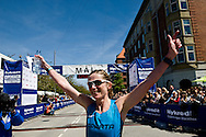 24.05.2015. Copenhagen, Denmark. Best Danish women was Malene Munkholm finished fifth place. About 12,000 contestants participated in the marathon that started in Islands Brygge.Photo: © Ricardo Ramirez