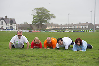 Five charities have issued a challenge to sporting enthusiasts in Galway to join them in a fundraising Guinness world record attempt &ndash; &lsquo;We&rsquo;re Planking it&rsquo;.<br /> The record which they are attempting to break is for the most people holding the abdominal plank position. It is being undertaken under the stewardship of local couple Sene and George Naoupu and a team of fitness instructors from their health and lifestyle business.<br /> The benefiting charities include Ronan Scully , Self Help Africa, Toni Burke , Irish Heart Foundation, Micheal Carty Special Olympics, Dawn McGoldrick Act for Menegitis and Bernice Kirwan COPE .  Photo: andrew downes