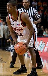 Virginia guard Sean Singletary (44)..The #23 Virginia Cavaliers men's basketball team defeated Drexel Dragons 72-58 at the John Paul Jones Arena in Charlottesville, VA on November 20, 2007.