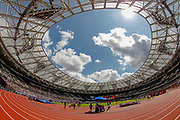 General stadium view inside the London Stadium, during the Muller Anniversary Games 2019 at the London Stadium, London, England on 20 July 2019.