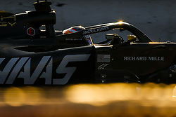 February 20, 2019 - Barcelona, Spain - GROSJEAN Romain (fra), Haas F1 Team VF-19 Ferrari, action during Formula 1 winter tests from February 18 to 21, 2019 at Barcelona, Spain - Photo  /  Motorsports: FIA Formula One World Championship 2019, Test in Barcelona, (Credit Image: © Hoch Zwei via ZUMA Wire)