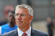 Sheffield United  Manager Nigel Adkins during the Sky Bet League 1 match between Bradford City and Sheffield Utd at the Coral Windows Stadium, Bradford, England on 20 September 2015. Photo by Simon Davies.