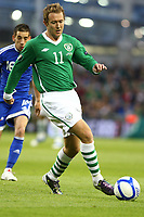 Football - UEFA Championship Qualifier - Republic of Ireland v Andorra<br /> Aiden McGeady (Rep of Ireland) in action in the UEFA Championship Group B Qualifier between the Republic of Ireland and Andorra at the Aviva Stadium in Dublin.