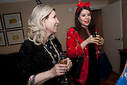 SHERI MAITI AND HER DAUGHTER DEEDEE, Terry Ronald - book launch party for his book ' Becoming Nancy' . The Westbury Hotel, Pine Room, Bond Street, London, W1S 2YF<br /> -DO NOT ARCHIVE-© Copyright Photograph by Dafydd Jones. 248 Clapham Rd. London SW9 0PZ. Tel 0207 820 0771. www.dafjones.com.