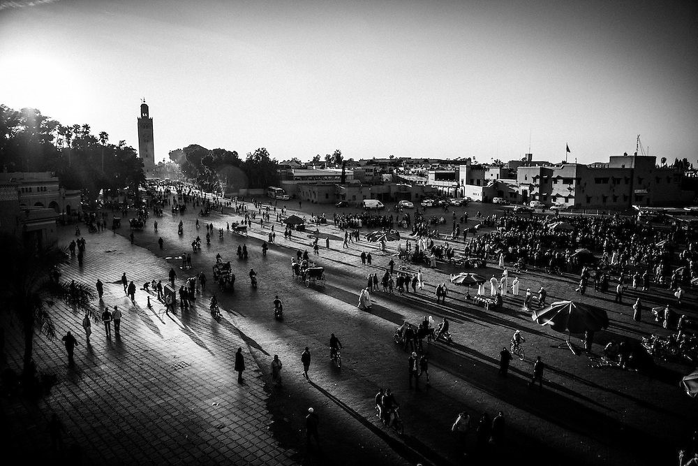 Place Jemaa El F'na, Marrakech, Morocco
