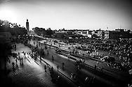 Place Jemaa El F'na, Marrakech, Morocco