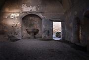Hurculaneum, Italy, Nov 2006-Ancient Bath House interior
