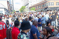 The 5th annual Hyde Park Brew Fest was held Saturday and Sunday, June 5th and 6th, 2018. Participants were treated to a day of music and beer tastings from local breweries with a headline performance by the legendary D.J. Jazzy Jeff. The event was sponsored by the Kimbark Beverage Shoppe, the Hyde Park Chamber of Commerce, Courvosoier and Effen.<br /> <br /> 0253, 0206, 0170 &ndash; The crowd on 53rd street.<br /> <br /> Please 'Like' &quot;Spencer Bibbs Photography&quot; on Facebook.<br /> <br /> Please leave a review for Spencer Bibbs Photography on Yelp.<br /> <br /> Please check me out on Twitter under Spencer Bibbs Photography.<br /> <br /> All rights to this photo are owned by Spencer Bibbs of Spencer Bibbs Photography and may only be used in any way shape or form, whole or in part with written permission by the owner of the photo, Spencer Bibbs.<br /> <br /> For all of your photography needs, please contact Spencer Bibbs at 773-895-4744. I can also be reached in the following ways:<br /> <br /> Website &ndash; www.spbdigitalconcepts.photoshelter.com<br /> <br /> Text - Text &ldquo;Spencer Bibbs&rdquo; to 72727<br /> <br /> Email &ndash; spencerbibbsphotography@yahoo.com<br /> <br /> #killyourcity #citykillerz #illgramers #way2ill #agameoftones #urbex #createexplore #exploretocreate #streetactivityteam #streetdreamsmag #neverstopexploring #featuremeinstagood #igersone #shoot2kill #streetshared #streetmobs #urbanphotography #streetphotography #streetexploration #urbanandstreet #imaginatones #streettogether #streetmagazine #streetmobs #peopleinsquare #moodygrams #illgrammers #instamagazine #twgrammers #shotaroundmag #illkillers #killergrams #superhubs #urbanromantix #livefolk #shotaward #_heater #yngkillers #shotzdelight #1stinstinct  #heatercentral <br /> #agameoftones #ig_masterpiece #ig_exquisite #ig_shotz #global_hotshotz #superhubs #main_vision #master_shots #exclusive_shots #hubs_united #jaw_dropping_shotz #worldshotz #theworldshotz #pixel_ig #photographyislifee #photographyislife #photographysouls #photographyeveryday #photographylover #worldbestgram #iglobal_photographers #ig_great_pics #ig_myshot #shotwith