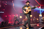 Zac Brown Band performing at the iHeartRadio Music Festival in Las Vegas, Nevada on Sepembter 20, 2014.