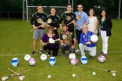 Clash Gaelic Games School http://clash.ie.<br /> Naomh Mearn&oacute;g GAA club, Blackwood Lane (near Portmarnock Sports &amp; Leisure Club), Portmarnock<br /> <br /> Group shot<br /> <br /> Gareth O'Driscoll.<br /> Neil O'Driscoll.<br /> Cillian O'Driscoll.<br /> Christian Schwad,<br /> Brendan King<br /> Tour guide<br /> <br /> Brigitte Walker<br /> Marco Ernwein <br /> Bernard Pichon