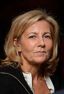 """©www.agencepeps.be/ F.Andrieu - Belgique -Bruxelles - 131120 - Claire Chazal marraine de l'Association """" Toutes à l'école"""" qui gère notamment la scolarité de 800 jeunes filles au Cambodge"""