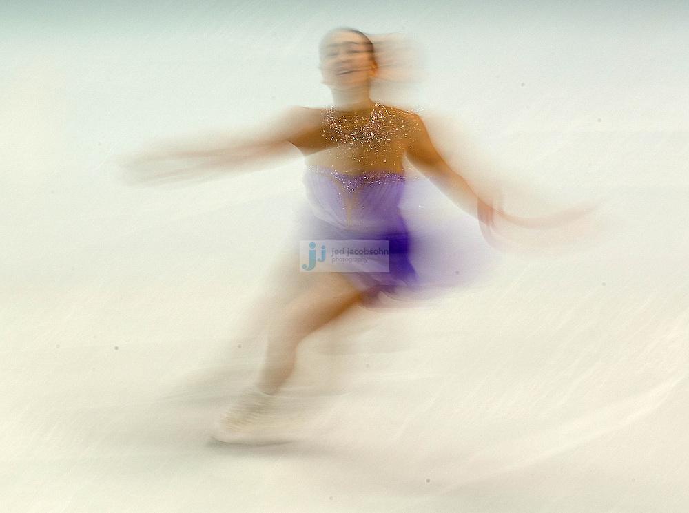 Figure Skating: 2014 Winter Olympics: Japan Mao Asada in action during Women's Short Program at Iceberg Skating Palace. Sochi, Russia 2/19/2014 CREDIT: Jed Jacobsohn (Photo by Jed Jacobsohn /Sports Illustrated