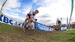Mathieu van der Poel (NED), Men Elite, Cyclo-cross Superprestige #8 Middelkerke, Belgium, 14 February 2015, Photo by Paul Burgoine / PelotonPhotos.com