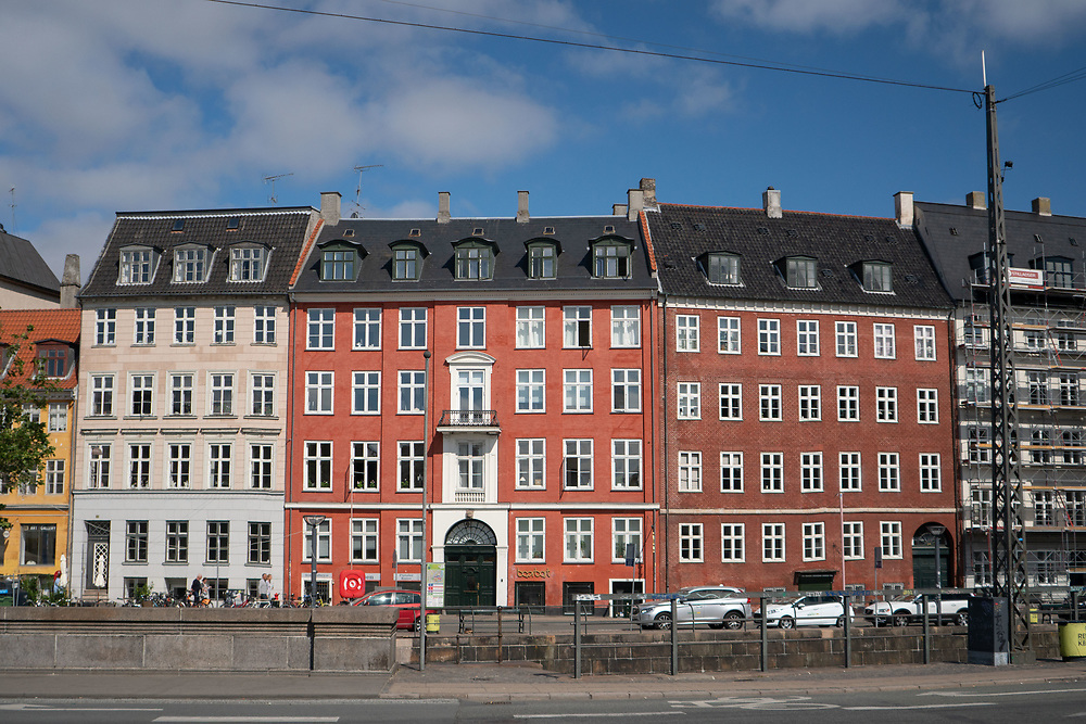 Colorful Buildings, Copenhagen, Denmark