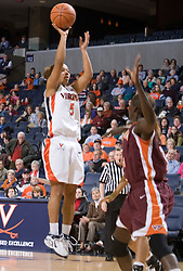 The Virginia Tech Hokies overcame a 14 point Virginia lead to beat the Cavaliers 60-58 on their home court at the John Paul Jones Arena in Charlottesville, VA.