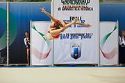 Daria Gabrielli from Raffaello Motto team during the Italian Rhythmic Gymnastics Championship in Padova, 25 November 2017.