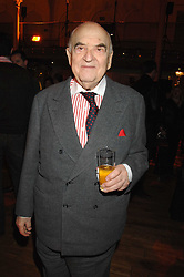 LORD WEIDENFELD at the Orion Authors Party held at the Royal Opera House, Covent Garden, London on 11th February 2008.<br />