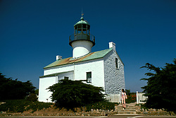 CA: Point Loma, California, lighthouse 2005 .Image: captloma101.Photo Copyright: Lee Foster, lee@fostertravel.com, www.fostertravel.com, (510) 549-2202..