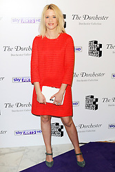 © Licensed to London News Pictures. 27/01/2014, UK. Edith Bowman, The South Bank Sky Arts Awards, Dorchester Hotel, London UK, 27 January 2014. Photo credit : Richard Goldschmidt/Piqtured/LNP