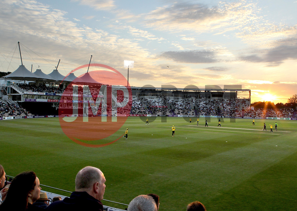 A general view of The Ageas Bowl - Photo mandatory by-line: Robbie Stephenson/JMP - Mobile: 07966 386802 - 19/06/2015 - SPORT - Cricket - Southampton - The Ageas Bowl - Hampshire v Sussex - Natwest T20 Blast