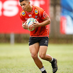 Thaakir Abrahams of the Cell C Sharks during The Cell C Sharks training session 10th December 2019 at Jonsson Kings Park Stadium in Durban, South Africa. (Photo by Steve Haag)<br /> <br /> images for social media must have consent from Steve Haag