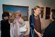 FERI DAFTARY; NAZ DIBA; EMPRESS FARAH PAHLAVI OF IRAN, Book launch for ' art and Patronage: The Middle East' at Sotheby's. London. 22 November 2010. -DO NOT ARCHIVE-© Copyright Photograph by Dafydd Jones. 248 Clapham Rd. London SW9 0PZ. Tel 0207 820 0771. www.dafjones.com.