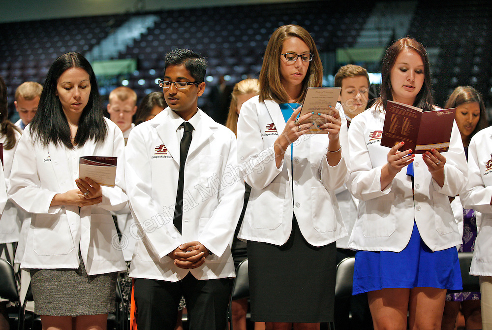 CMED White Coat Ceremony | Central Michigan University Photo Store