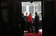 UK Prime Minister Theresa May in South Africa- 28 Aug 2018