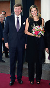 Premiere van Gurre-Lieder in de Nationale Opera &amp; Ballet / Premiere of Gurre-Lieder in the National Opera &amp; Ballet.<br /> <br /> Op de foto / On the photo:  Koning Willem-Alexander en koningin Maxima   / King Willem Alexander and Queen Maxima