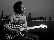 Buddy Guy Lake Michicagn and Chicago skyline Chicago, IL