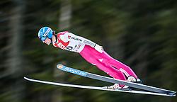 19.12.2014, Nordische Arena, Ramsau, AUT, FIS Nordische Kombination Weltcup, Skisprung, PCR, im Bild Tino Edelmann (GER) // during Ski Jumping of FIS Nordic Combined World Cup, at the Nordic Arena in Ramsau, Austria on 2014/12/19. EXPA Pictures © 2014, EXPA/ JFK