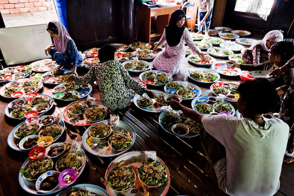 A Cham Muslim wedding in a small village near Chau Doc, Vietnam.