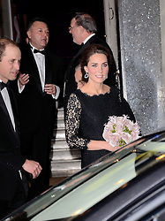 HRH Catherine, Duchess Of Cambridge attends The Royal Variety Show at The London Palladium, Argyll Street, London on Thursday 13th November 2014