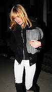19.DECEMBER.2007. LONDON<br /> <br /> A VERY SPOTTY AND GUANT LOOKING KATE MOSS GOING TO A FRIENDS HOUSE IN MAIDA VALE TO DROP OFF SOME CHRISTMAS PRESENTS BEFORE RETURNING HOME.<br /> <br /> BYLINE: EDBIMAGEARCHIVE.CO.UK<br /> <br /> *THIS IMAGE IS STRICTLY FOR UK NEWSPAPERS AND MAGAZINES ONLY*<br /> *FOR WORLD WIDE SALES AND WEB USE PLEASE CONTACT EDBIMAGEARCHIVE - 0208 954 5968*