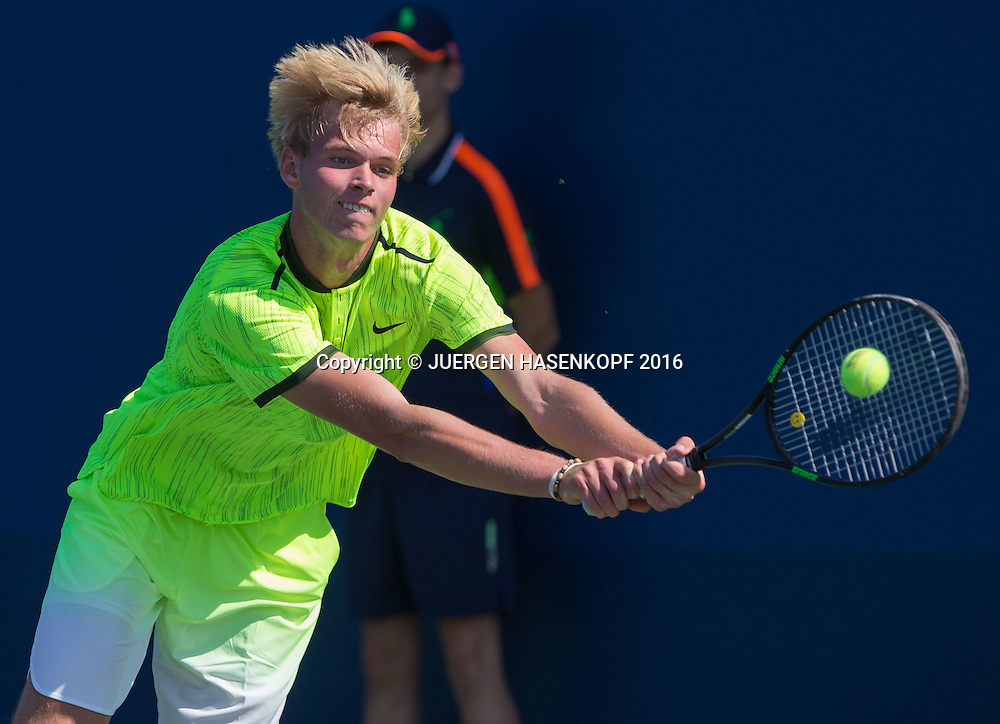 LOUIS WESSELS (GER)<br /> <br /> Tennis - US Open 2016 - Grand Slam ITF / ATP / WTA -  USTA Billie Jean King National Tennis Center - New York - New York - USA  - 4 September 2016.