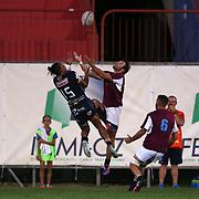 Rovigo 26/08/2017 Stadio Battaglini <br /> Amichevole<br /> Rugby Rovigo vs Fiamme Oro