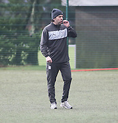 - Paul Hartley - first day in charge at Dundee FC<br />  - &copy; David Young - www.davidyoungphoto.co.uk - email: davidyoungphoto@gmail.com