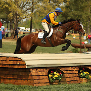 Phillip Dutton and Tru Luck at the 2007 Fork Horse Trials & CIC3*-W in Norwood, North Carolina