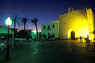 Espa&ntilde;a. Islas Baleares.Formentera. Vista a&eacute;rea de la iglesia de Sant Francesc.<br /> <br /> &copy; JOAN COSTA