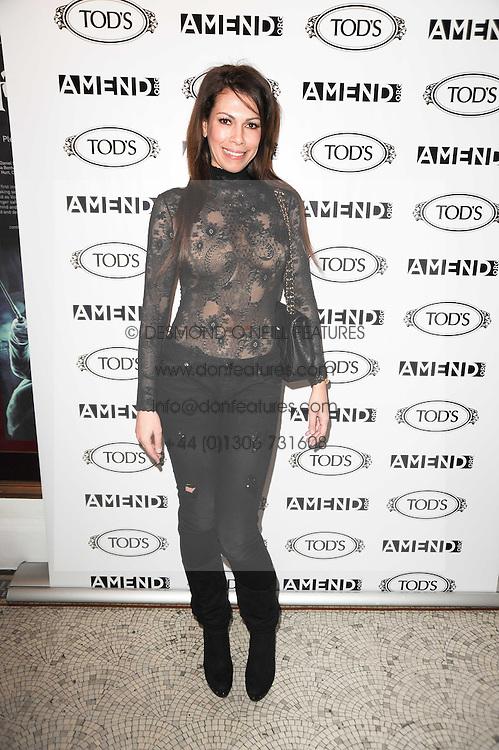 LADY KINGSLEY (Daniela Barbosa) at an In-House screening of 'Sweet Smell of Success' hosted by Clive Owen presented by Tod's in association with Amend held at The Electric Cinema, 191 Portobello Road, London W11 on 29th November 2010.