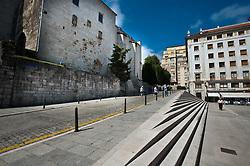 Cathedral Plaza, Santander, Spain<br /> <br /> (c) Andrew Wilson   Edinburgh Elite media